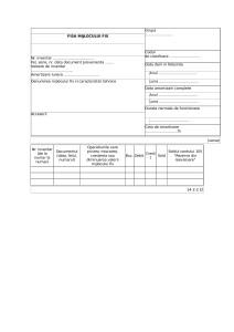 Fisa mijlocului fix: model formular doc