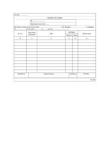 Dispozitie de livrare (Cod 14-3-5A): model DOC