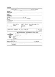 Dispozitie de plata/incasare (Cod 14-4-4): model